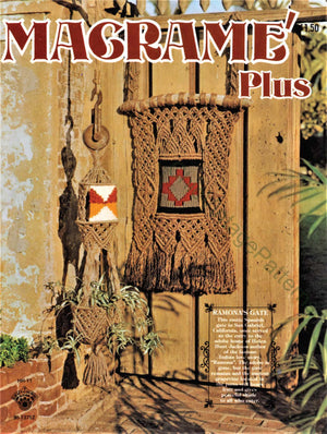 "Copy of Vintage ""Macrame Plus"" Pattern Book, PDF Book, Instant Download"