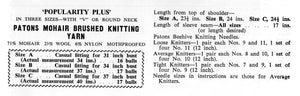 Knitted Sweaters, His & Her Mohair Jumper Pattern, Instant Download