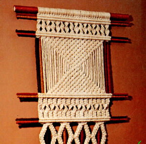 Macrame Wall Hanging Pattern, Macrame Wall Art, Instant Download