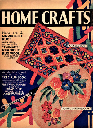 Ladies Journal No 664 Home Crafts Supplement, Instant Download