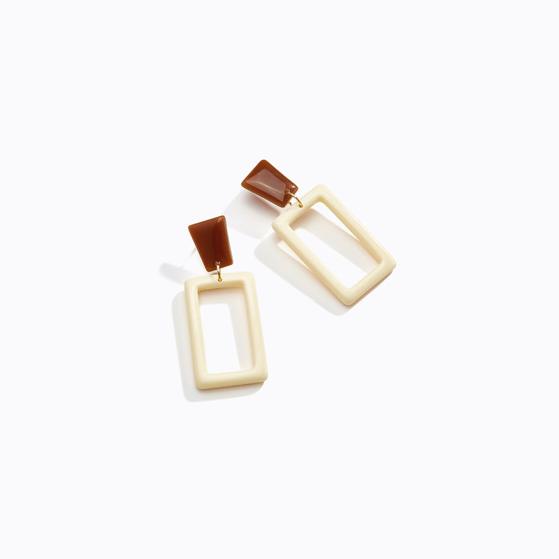 Frame Drop Earrings