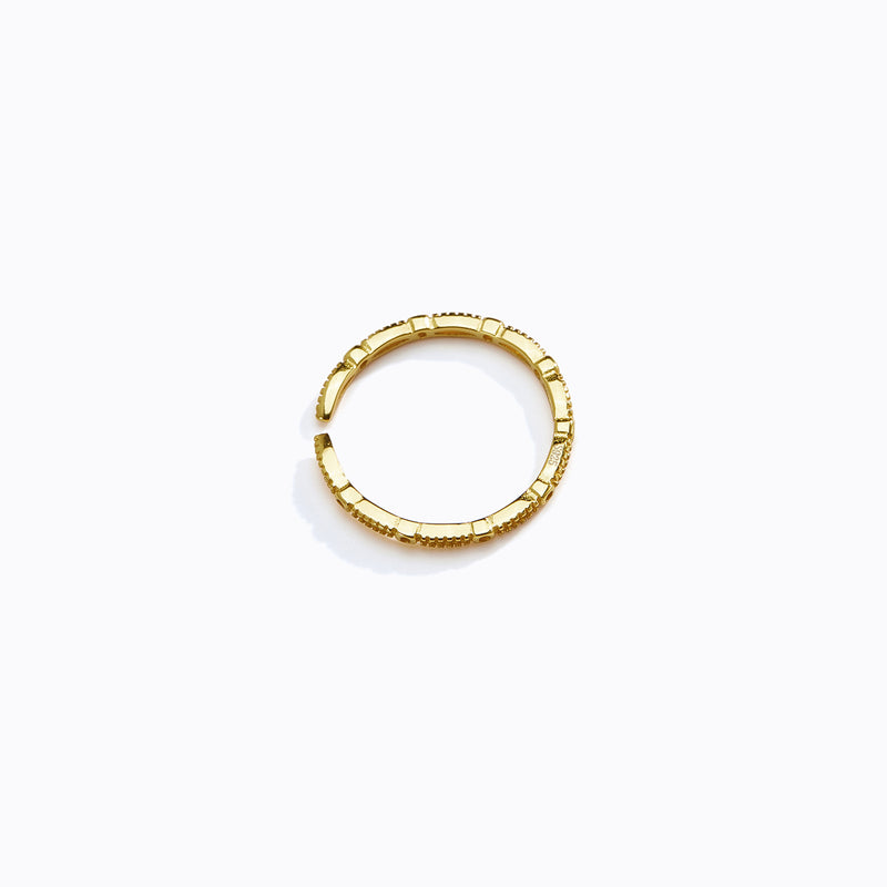 Textured Loop Ring