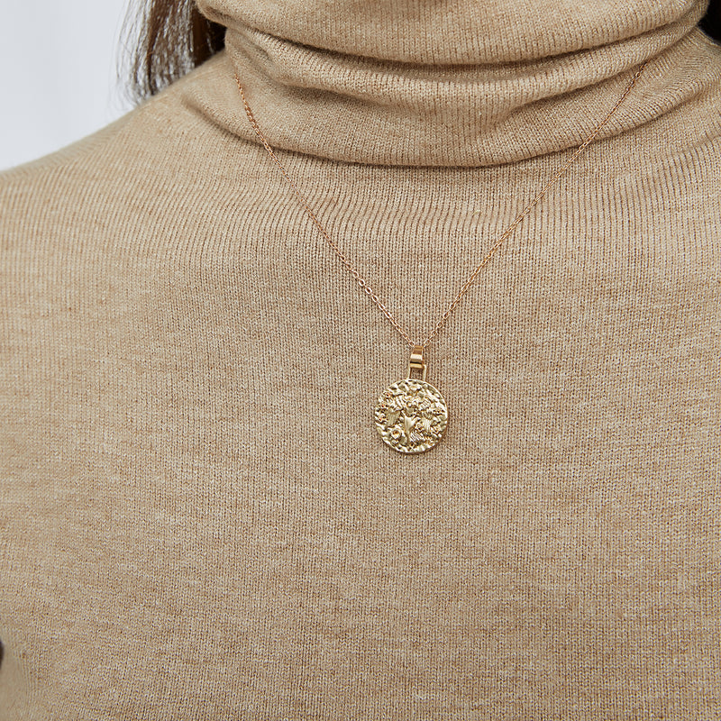 Astrological Pendant Necklace - (Taurus)