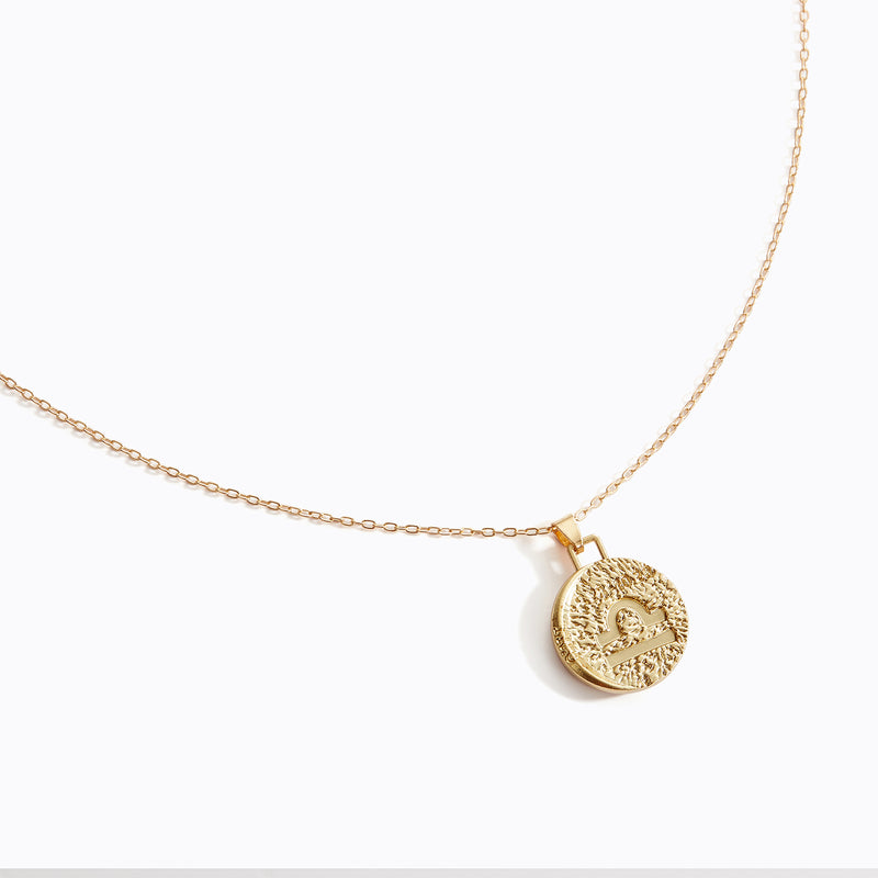 Astrological Pendant Necklace - (Libra)