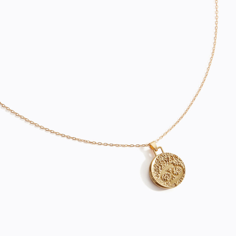 Astrological Pendant Necklace - (Cancer)