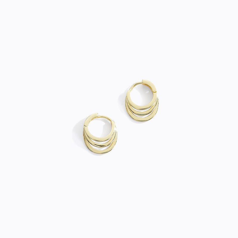 Tri-Hoop Earrings