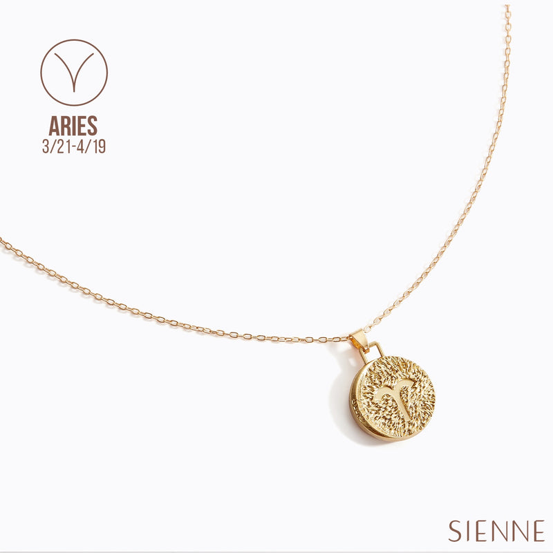 Astrological Pendant Necklace - (Aries)