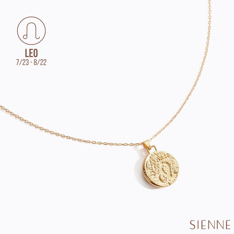 Astrological Pendant Necklace - (LEO)
