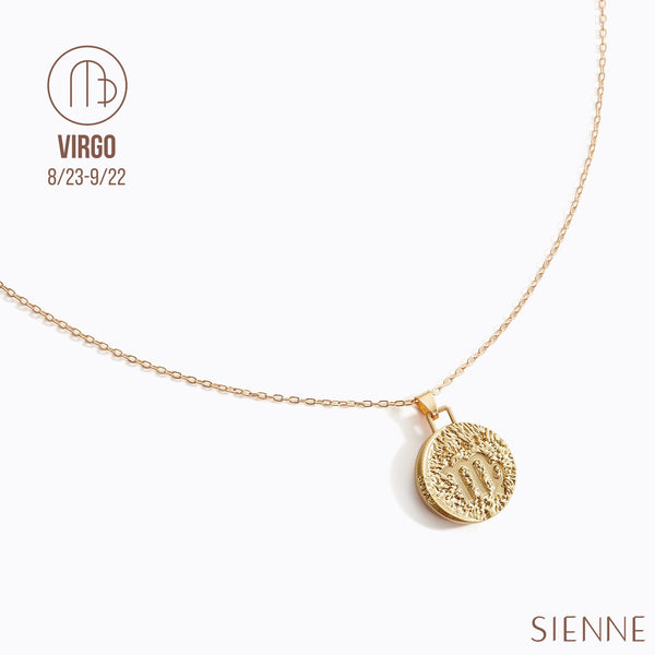 Astrological Pendant Necklace - (Virgo)