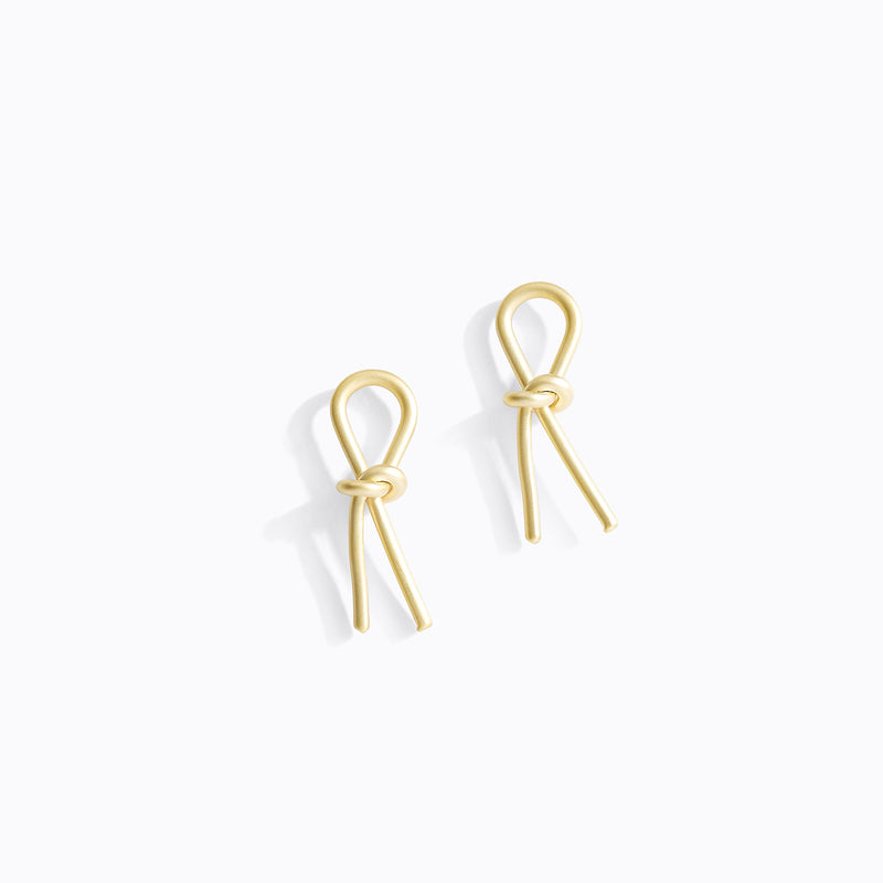 Looped Knot Earrings