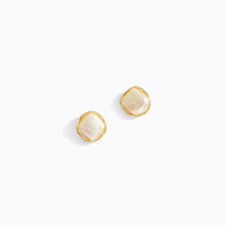 Weave Pearl Stud Earrings