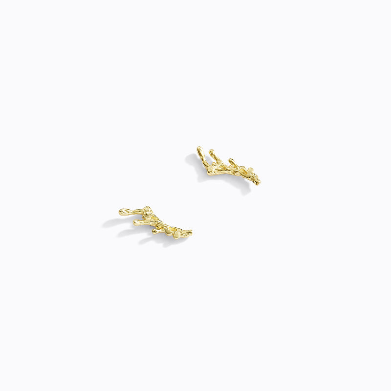 Stud Bar Drip Earrings
