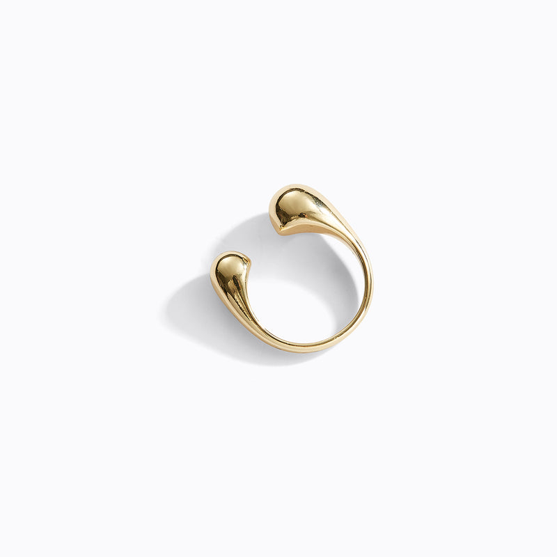 Gold-Tone Gap Ring