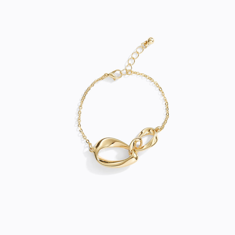 Triple Looped Knot Bracelet
