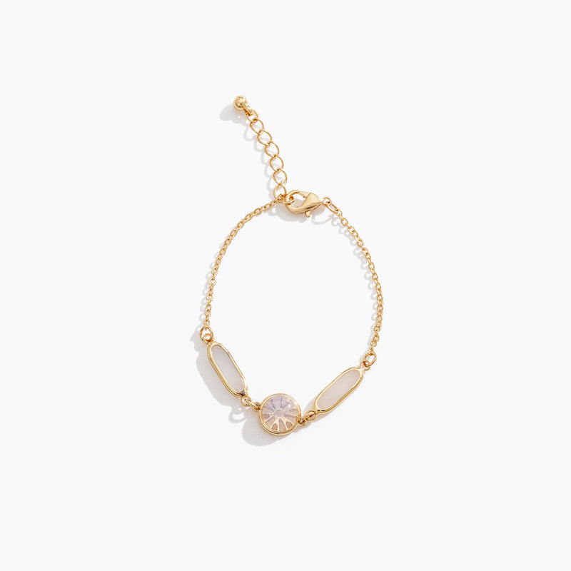 Plated Cat Eye Bracelet