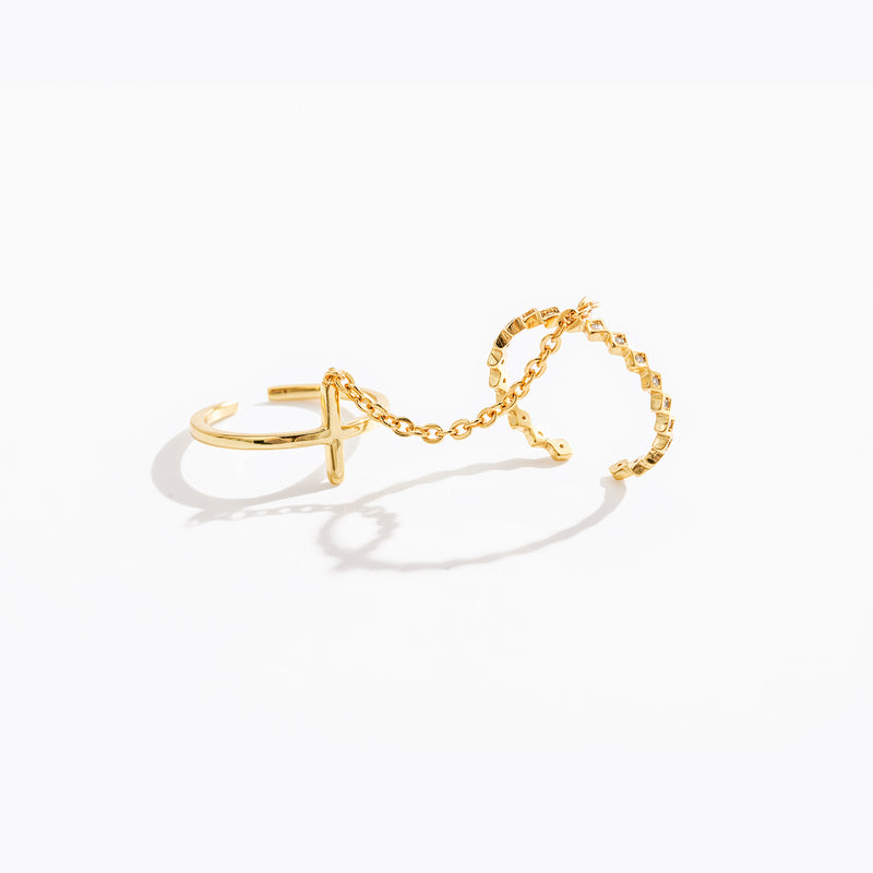 Cross & Chain Ring