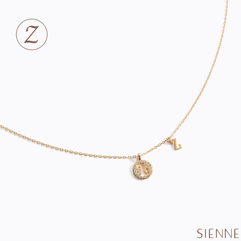 Letter Necklace - (Z)