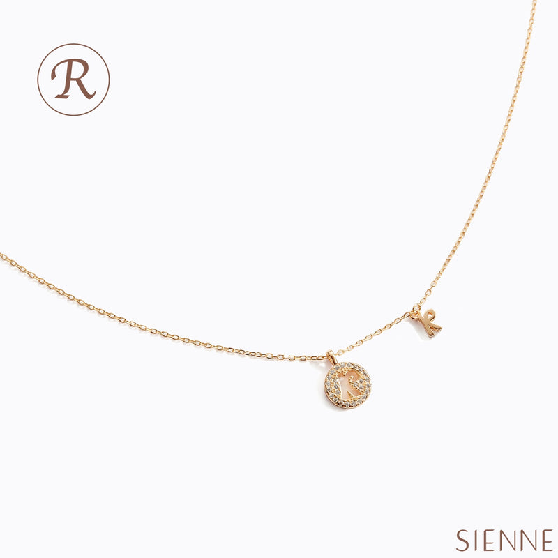 Letter Necklace - (R)