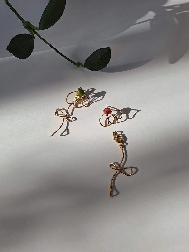 KAIA branch earrings