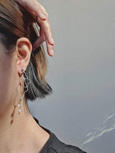 ALAIA earrings - Silver