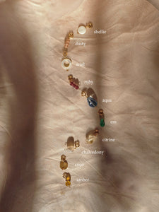 WANDERLUST necklace 18 pack charms