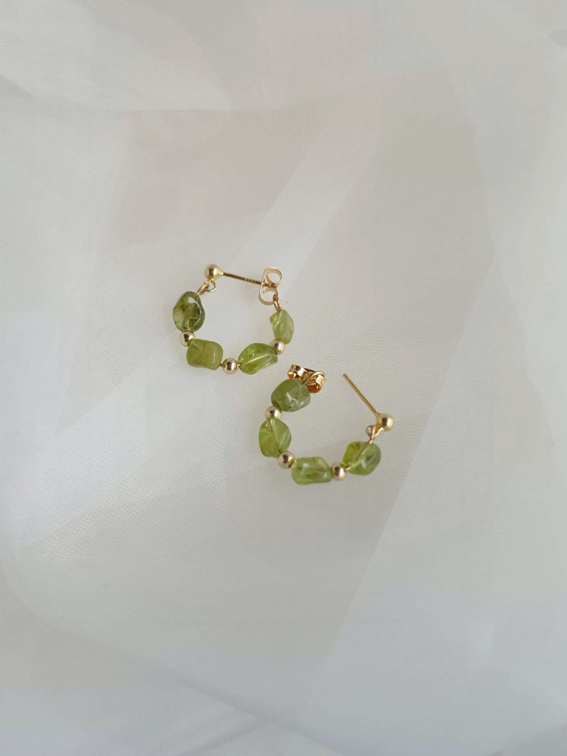 LIDDIE hoop earrings