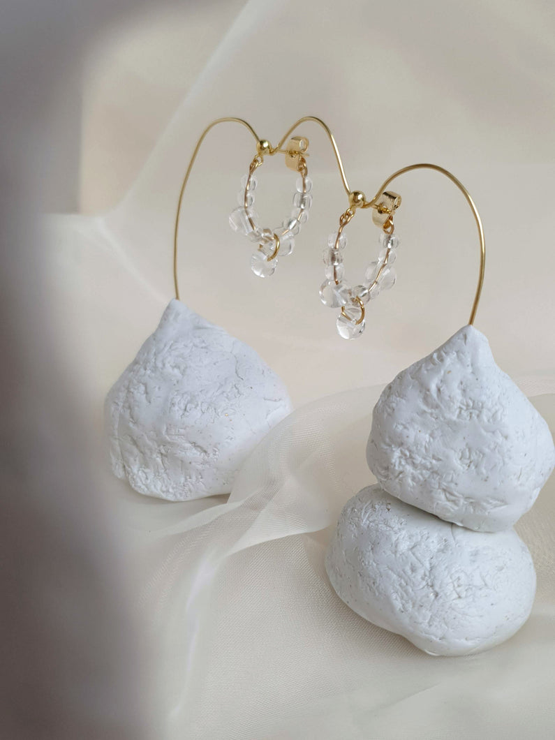 SAFFI hoop earrings