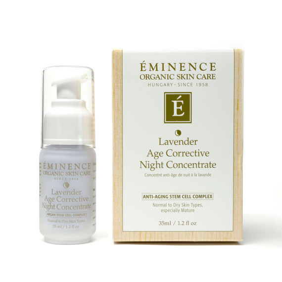 Lavender Age Corrective Night Concentrate 1.2oz