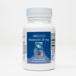 MELATONIN 20 MG 60 CAPSULES