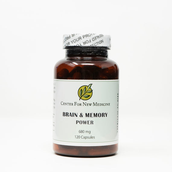 Brain & Memory Power 120 Capsules