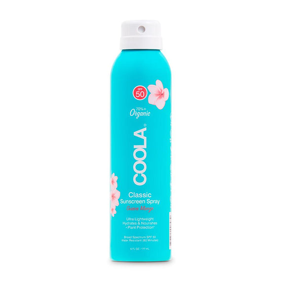 SPF 50 Classic Sunscreen Spray Guava Mango