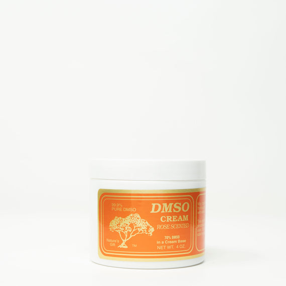DMSO Cream Rose Scent 4oz