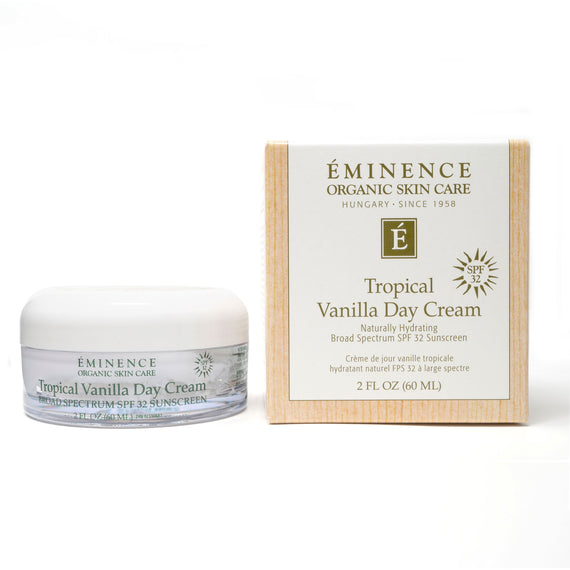 Tropical Vanilla Day Face Cream 2oz