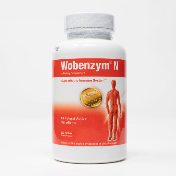 Wobenzym N 200 Tablets