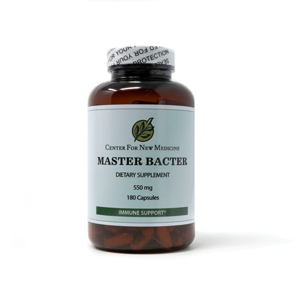 Master Bacter 550mg 180 Capsules