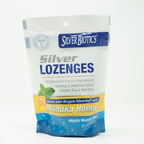 Silver Lozenges 21 Pack