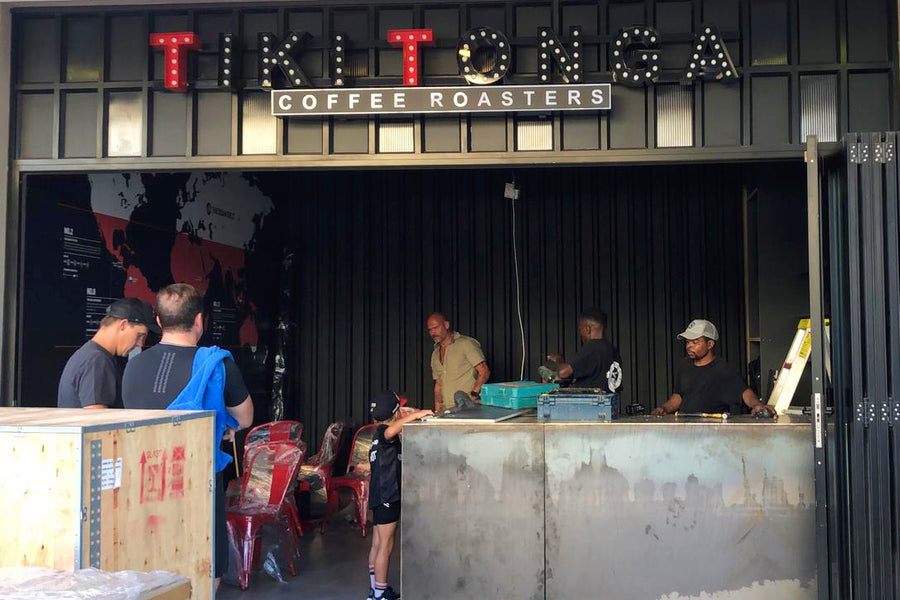 Tiki Tonga's Coffee Shop has just arrived in Durban, South Africa!