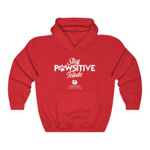 "Load image into Gallery viewer, ""Stay PAWsitive Toledo"" Unisex Heavy Blend™ Hooded Sweatshirt"