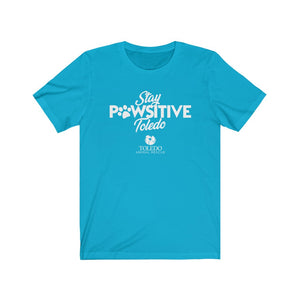 """Stay PAWsitive Toledo"" Unisex Ultra Cotton Tee"