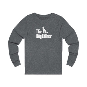 """The DogFather"" Unisex Jersey Long Sleeve Tee"