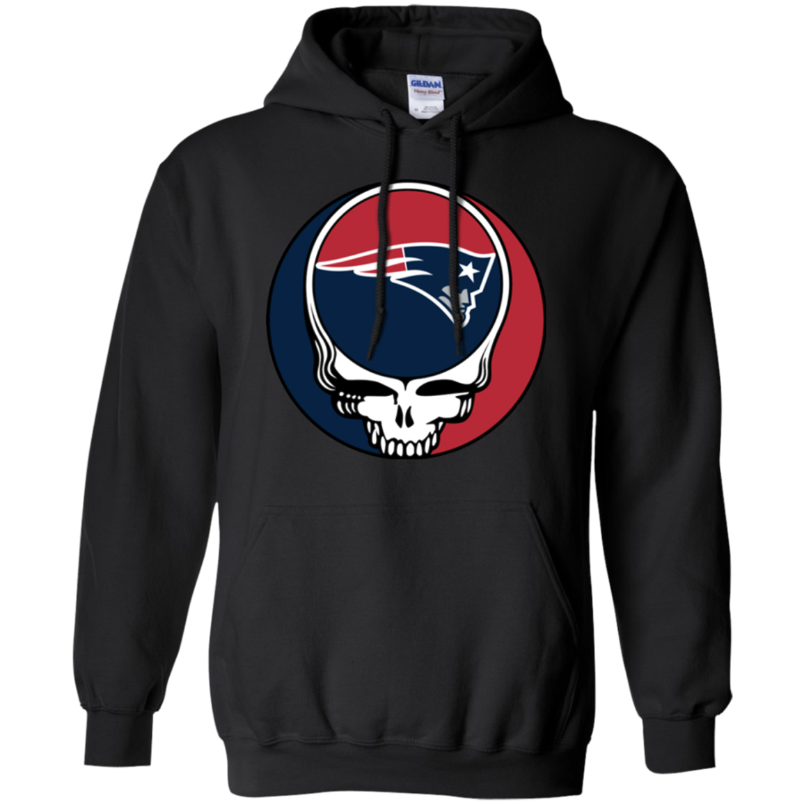 Check Out This Awesome New England Patriots Footballl Grateful Dead Steal Your Face Shirts