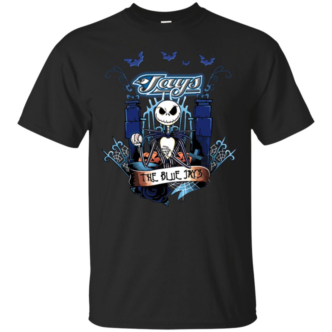 Get Here Toronto Blue Jays Halloween The Nightmare Before Christmas For T Shirt