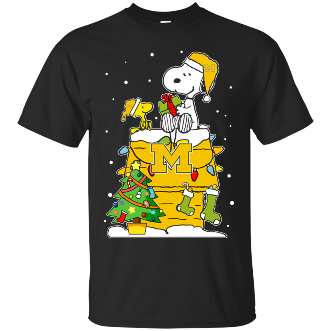 Order Michigan Wolverines Snoopy Ugly Christmas Sweaters Shirts