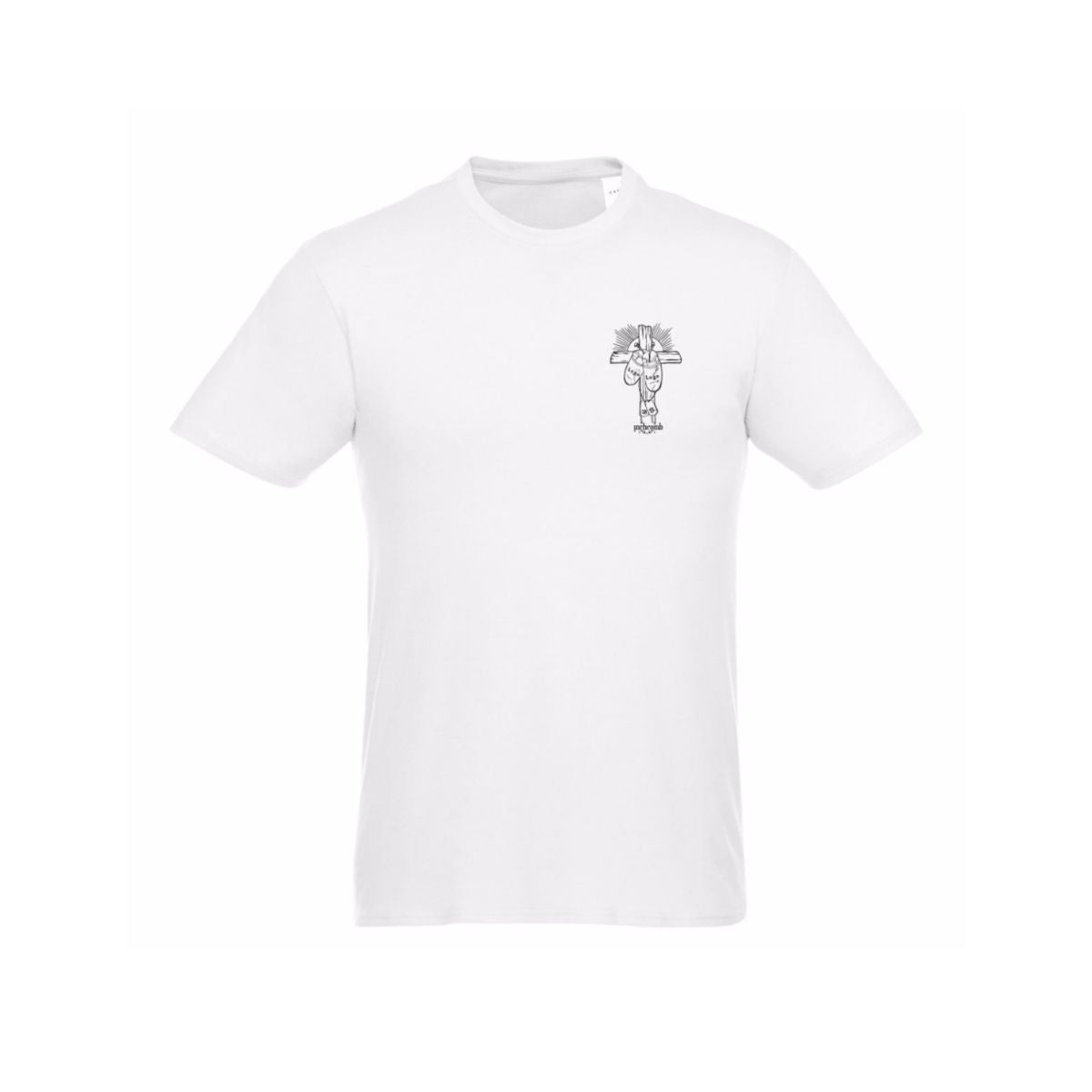 White Logo T-Shirt | Cross