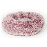 Danish Design Fluffies Dog Bed Cushion Purple Pink