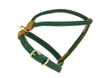 Racing Green / Burghley D&H Rolled Leather Dog Harness