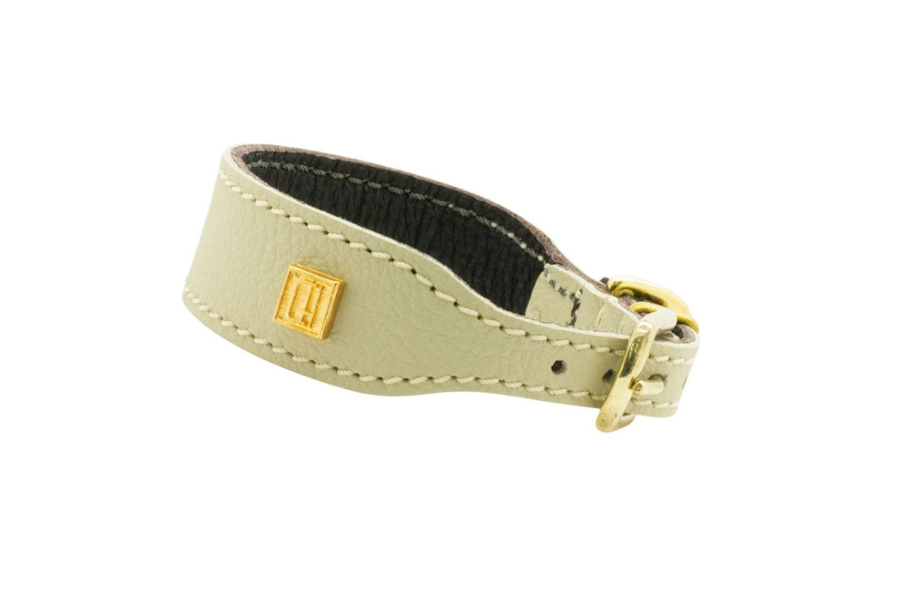 D&H | Leather Italian Greyhound Collar