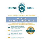 Bone Idol Healthy Dog Food - Salmon & Garden Vegetables Big Bite Puppy