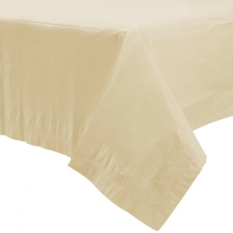Vanilla Creme Paper Tablecover