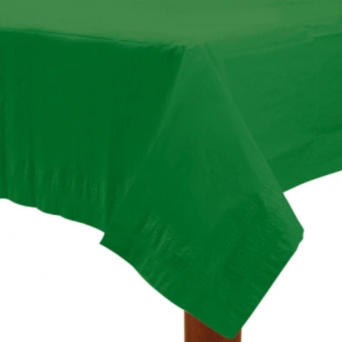 Festive Green Paper Tablecover